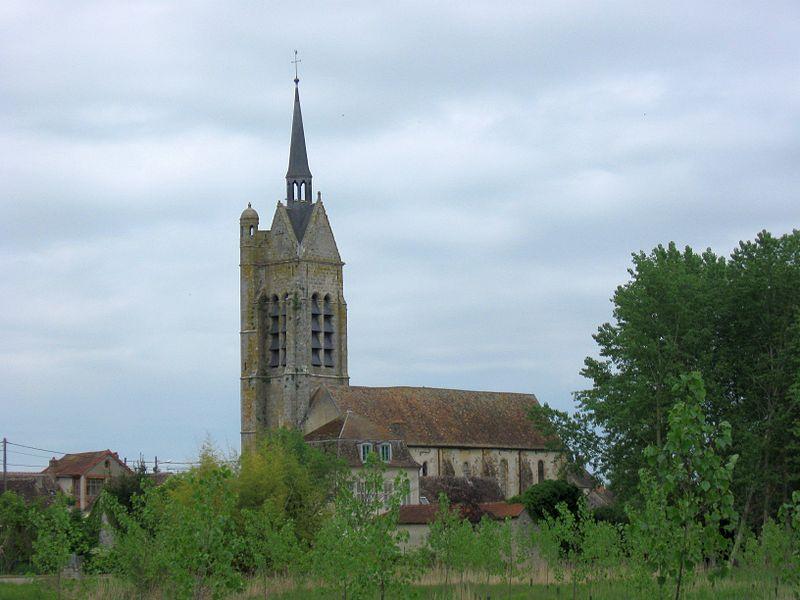 Photo du Monument Historique Eglise Saint-Cyr-Sainte-Julitte situé à Vimpelles