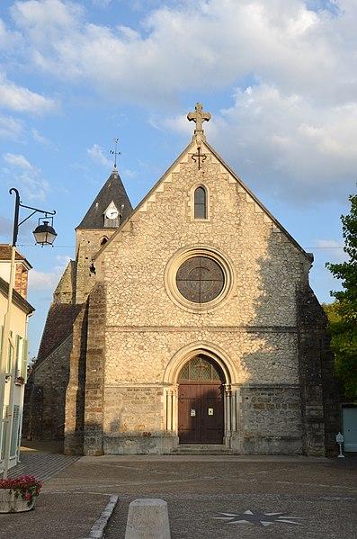 Photo du Monument Historique Eglise situé à Voulx
