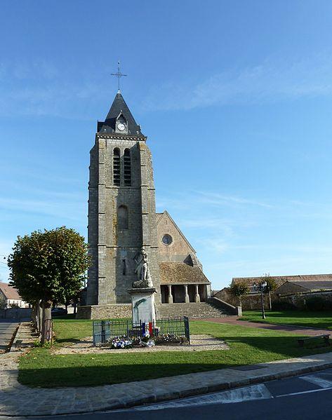 Photo du Monument Historique Eglise Saint-Germain situé à Bombon