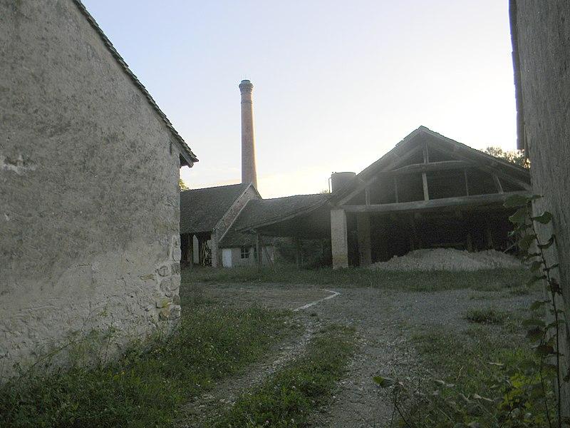 Photo du Monument Historique Tuilerie de Bezanleu : les bâtiments situé à Treuzy-Levelay