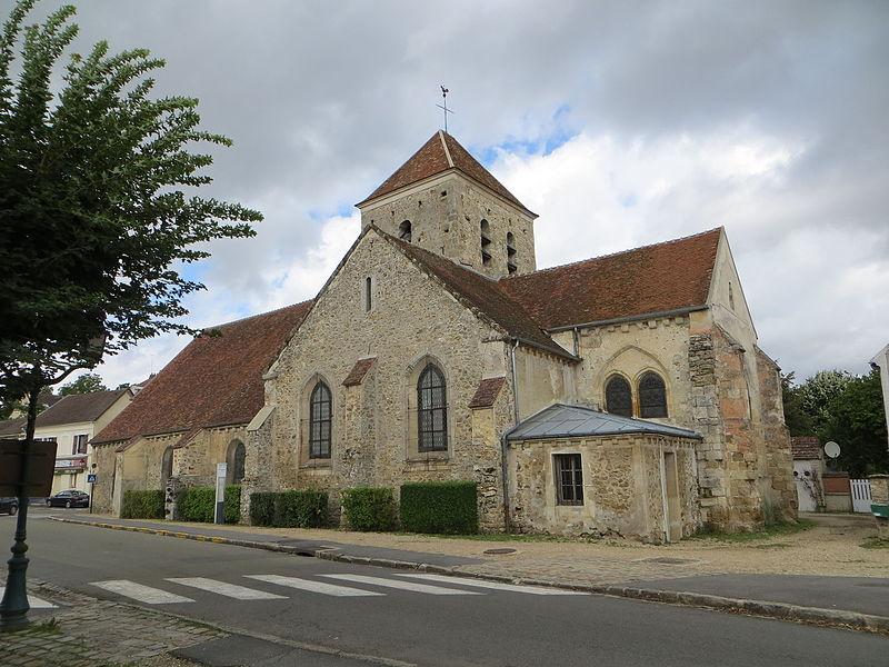 Photo du Monument Historique Eglise Saint-Cyr et Sainte-Julitte situé à Saint-Cyr-sur-Morin