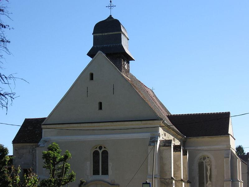 Photo du Monument Historique Eglise Saint-Saturnin situé à Chauconin-Neufmontiers