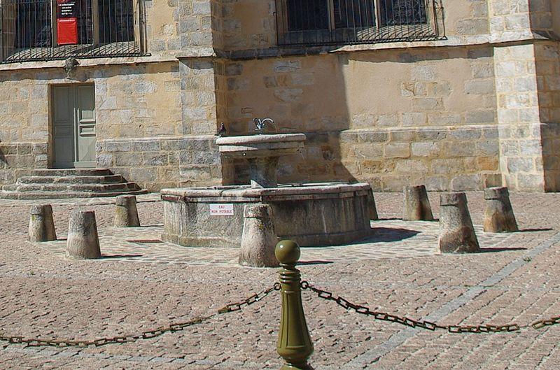 Photo du Monument Historique Fontaine situé à Fontenay-Trésigny