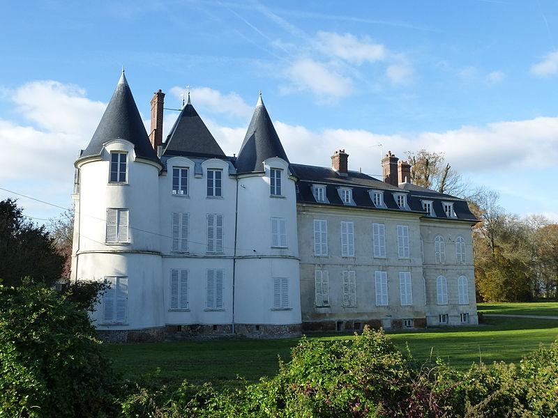 Photo du Monument Historique Château de Bélou situé à Boutigny