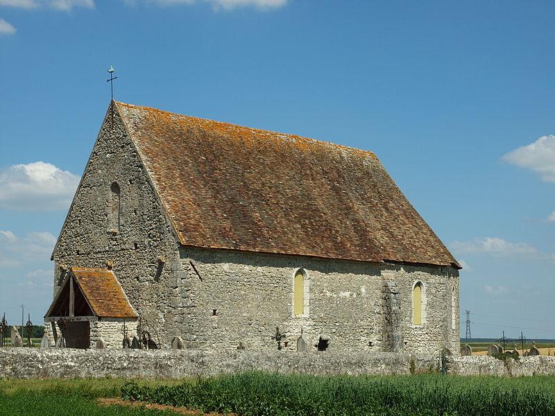 Photo du Monument Historique Eglise Saint-Eutrope de Lagerville situé à Chaintreaux