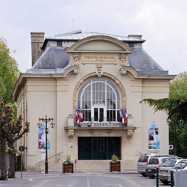 Photo du Monument Historique Théâtre municipal de Coulommiers situé à Coulommiers