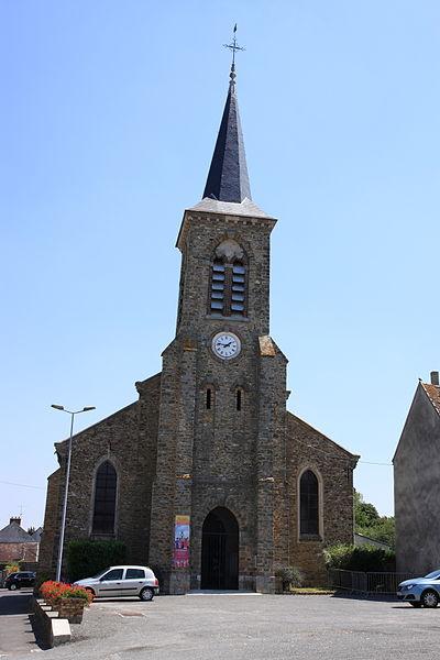 Photo du Monument Historique Eglise Saint-Siméon situé à Saint-Siméon