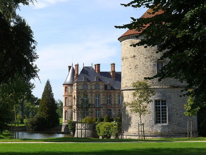 Photo du Monument Historique Château situé à La Houssaye-en-Brie