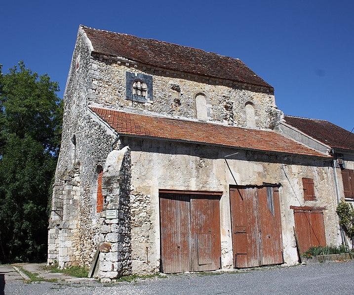 Photo du Monument Historique Ancienne église du prieuré Saint-Martin situé à La Ferté-Gaucher