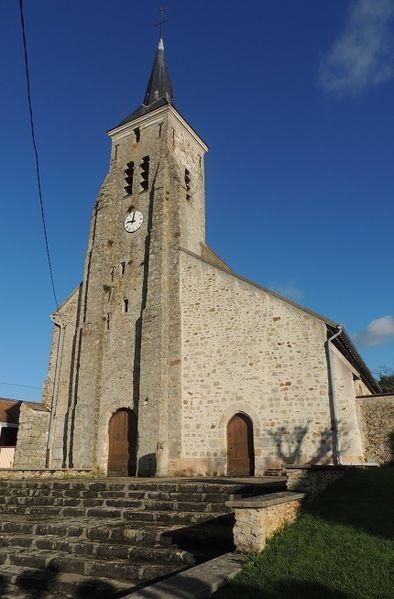 Photo du Monument Historique Eglise Notre-Dame de l'Assomption de Nesles-la-Gilberde situé à Lumigny-Nesles-Ormeaux