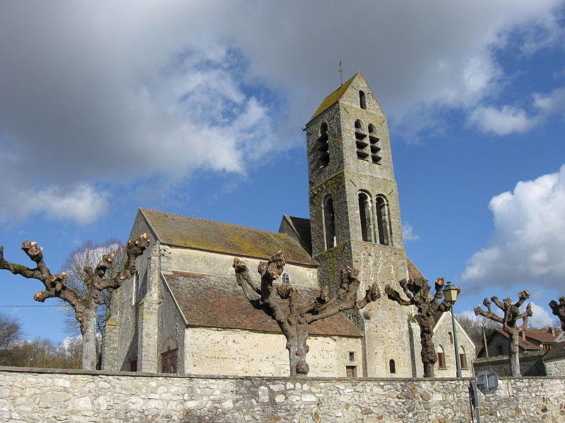 Photo du Monument Historique Eglise Saint-Germain situé à Saint-Germain-Laval
