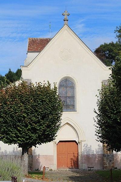 Photo du Monument Historique Eglise paroissiale Saint-Germain situé à Gouvernes