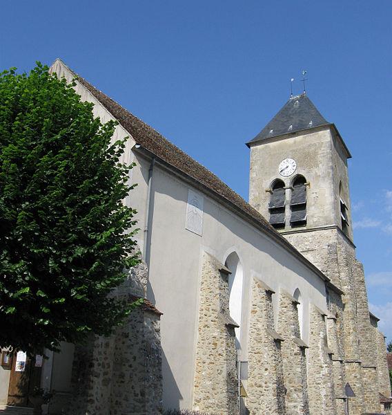 Photo du Monument Historique Eglise paroissiale Saint-Authaire situé à Ussy-sur-Marne
