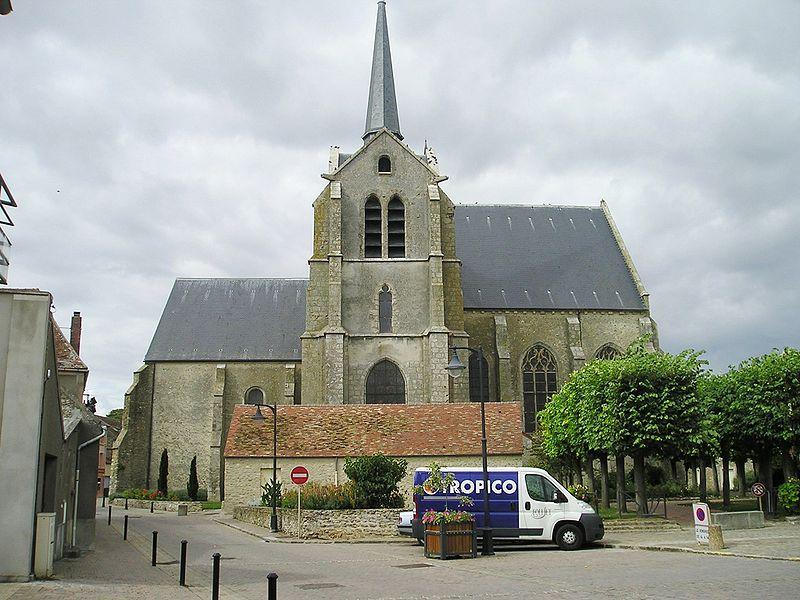 Photo du Monument Historique Eglise Saint-Pierre Saint-Paul situé à Ablis