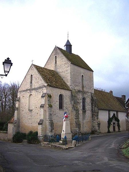 Photo du Monument Historique Eglise Notre-Dame de l'Assomption situé à Autouillet