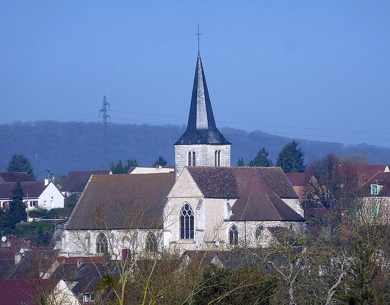 Photo du Monument Historique Eglise Saint-Ouen situé à Bennecourt