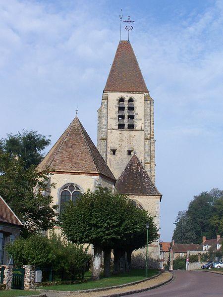 Photo du Monument Historique Eglise Saint-Germain-de-Paris situé à Celle-les-Bordes (La)