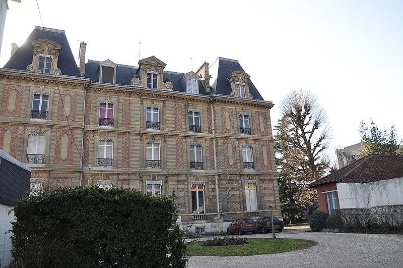 Photo du Monument Historique Château de la Faisanderie situé à Chatou