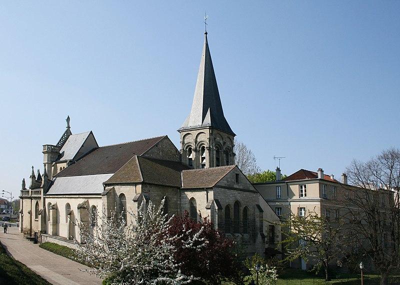 Photo du Monument Historique Eglise Notre-Dame situé à Chatou