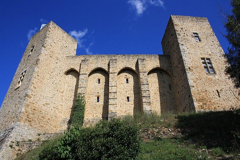 Photo du Monument Historique Château de la Madeleine (ruines) situé à Chevreuse