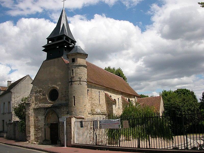 Photo du Monument Historique Eglise Saint-Léonard et Saint-Martin situé à Croissy-sur-Seine