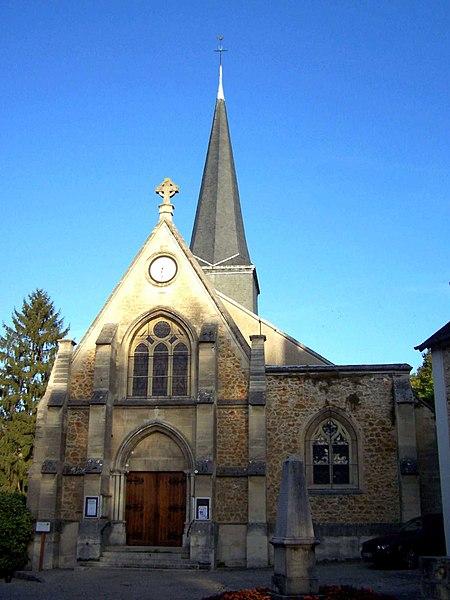 Photo du Monument Historique Eglise Sainte-Anne situé à L'Etang-la-Ville