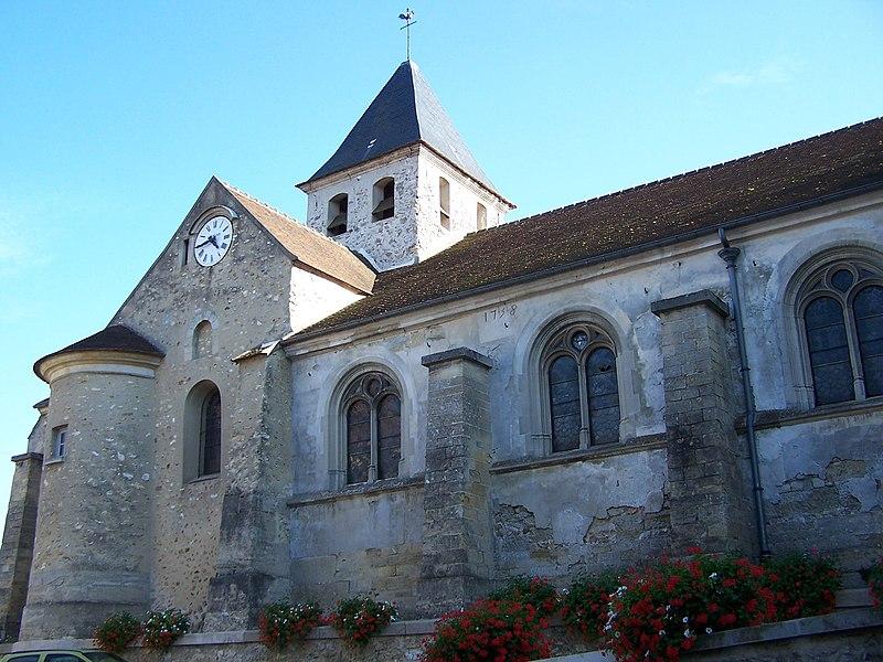 Photo du Monument Historique Eglise Notre-Dame-de-l'Assomption situé à Evecquemont
