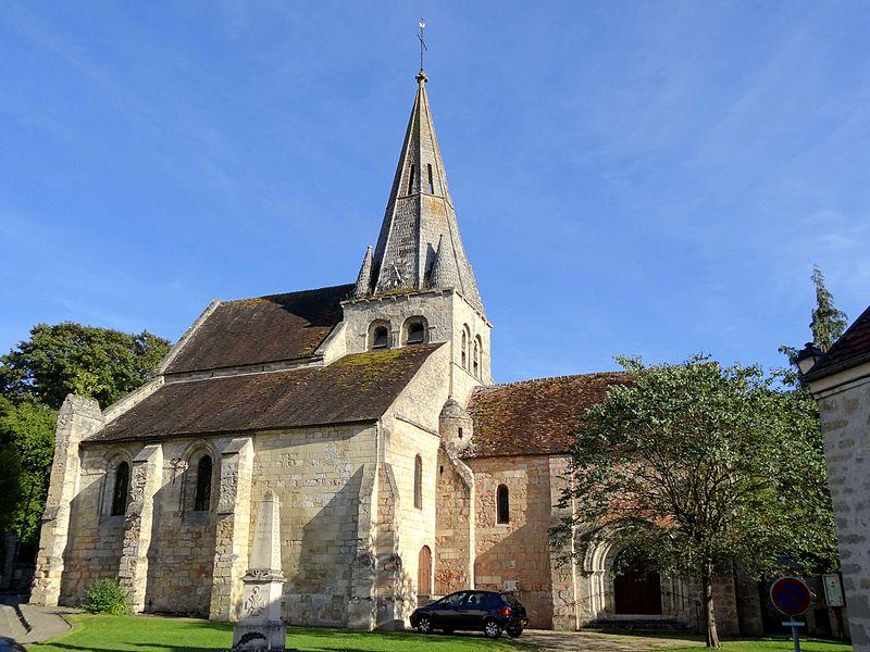 Photo du Monument Historique Eglise Notre-Dame-de-l'Assomption situé à Gaillon-sur-Montcient
