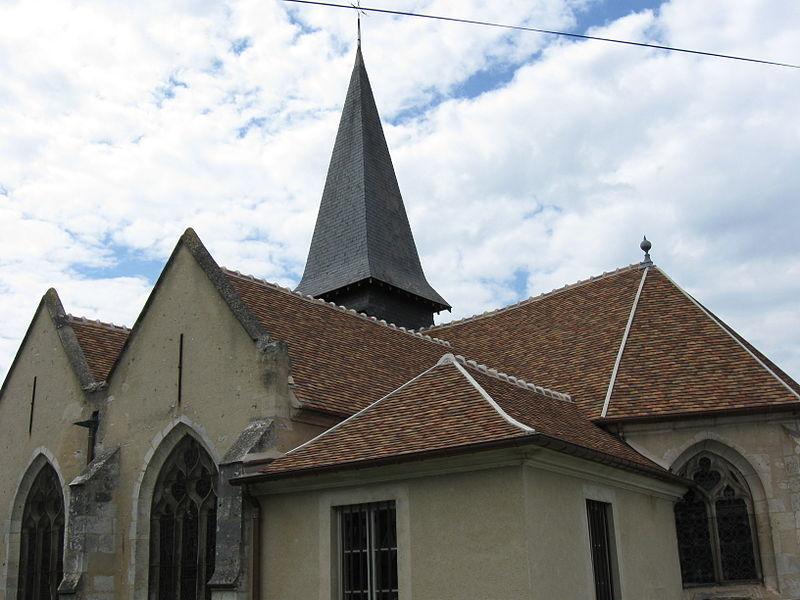 Photo du Monument Historique Eglise situé à Gommecourt