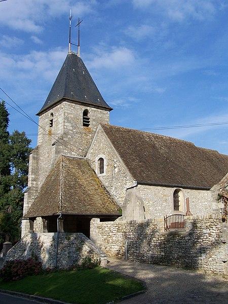 Photo du Monument Historique Eglise Saint-Germain situé à Goupillières