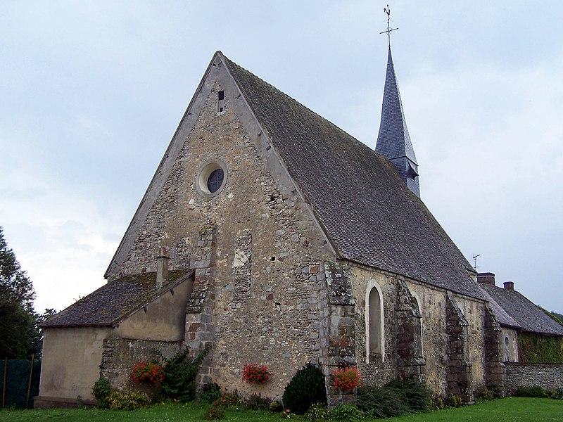 Photo du Monument Historique Eglise situé à Gressey