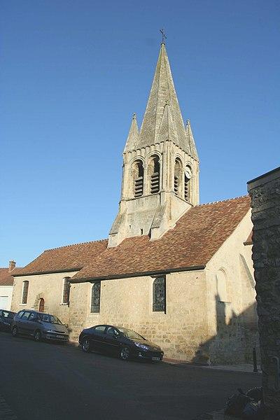 Photo du Monument Historique Eglise Saint-Germain-de-Paris situé à Hardricourt