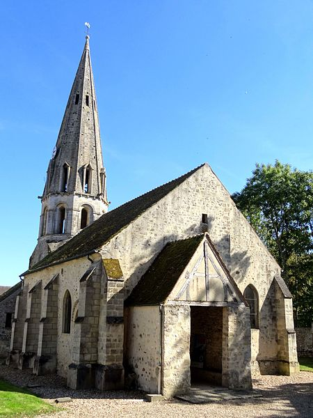 Photo du Monument Historique Eglise situé à Jambville