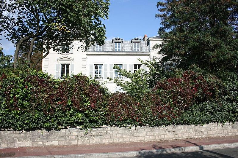 Photo du Monument Historique Immeuble situé à Maisons-Laffitte