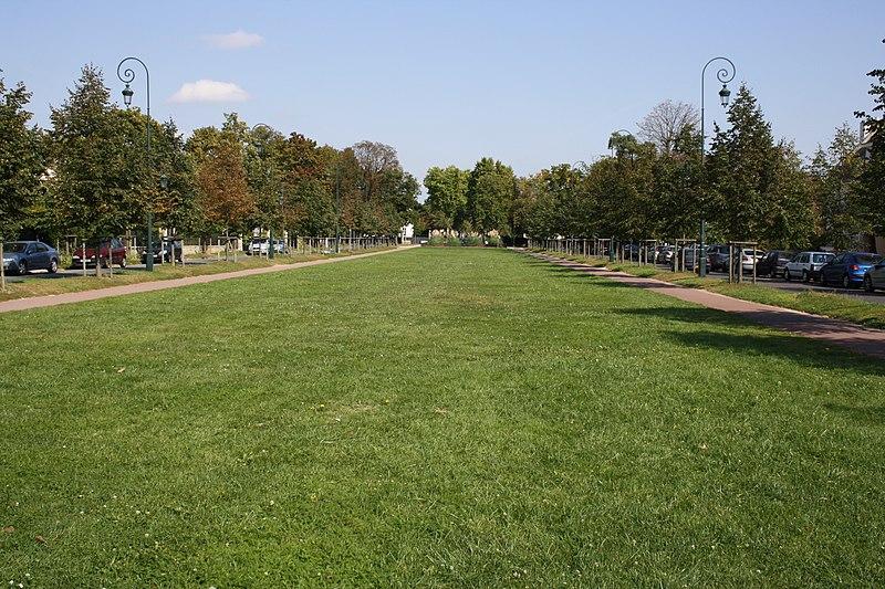 Photo du Monument Historique Parc situé à Maisons-Laffitte