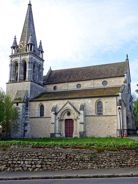 Photo du Monument Historique Eglise Saint-Etienne et ses abords situé à Mareil-Marly