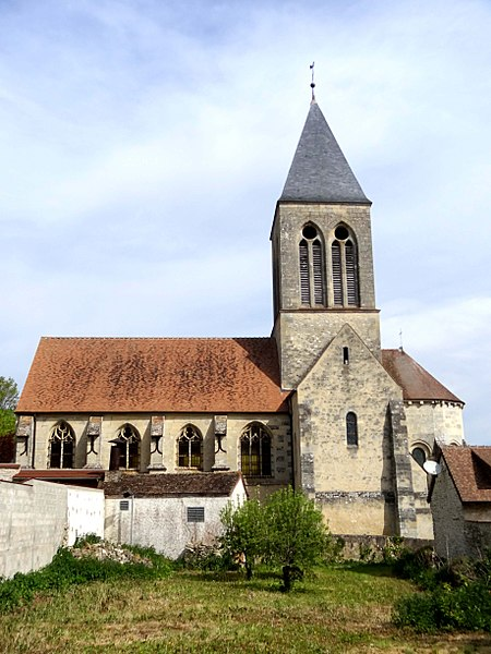 Photo du Monument Historique Eglise Saint-Martin situé à Mareil-sur-Mauldre