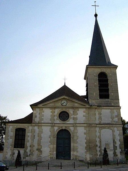 Photo du Monument Historique Eglise Saint-Etienne - Saint-Vigor situé à Marly-le-Roi