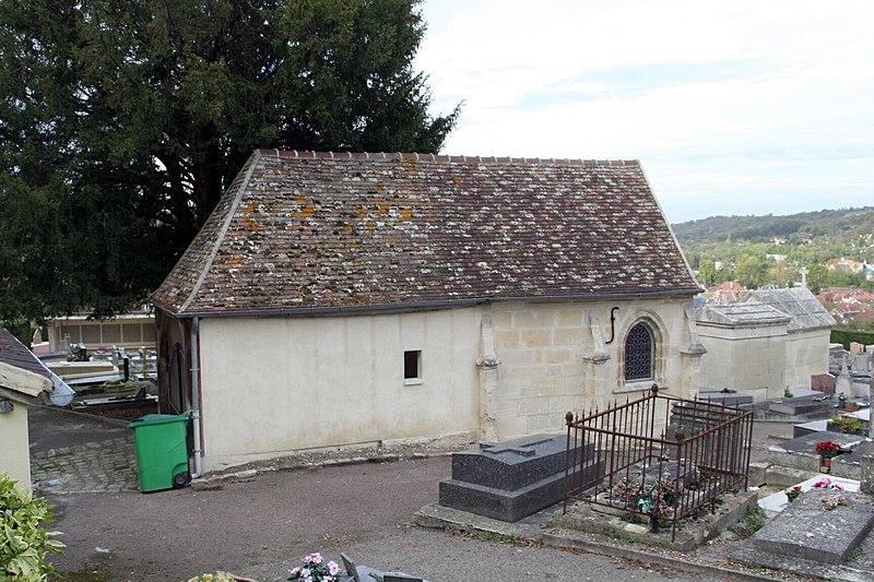 Photo du Monument Historique Chapelle Saint-Jacques situé à Maule
