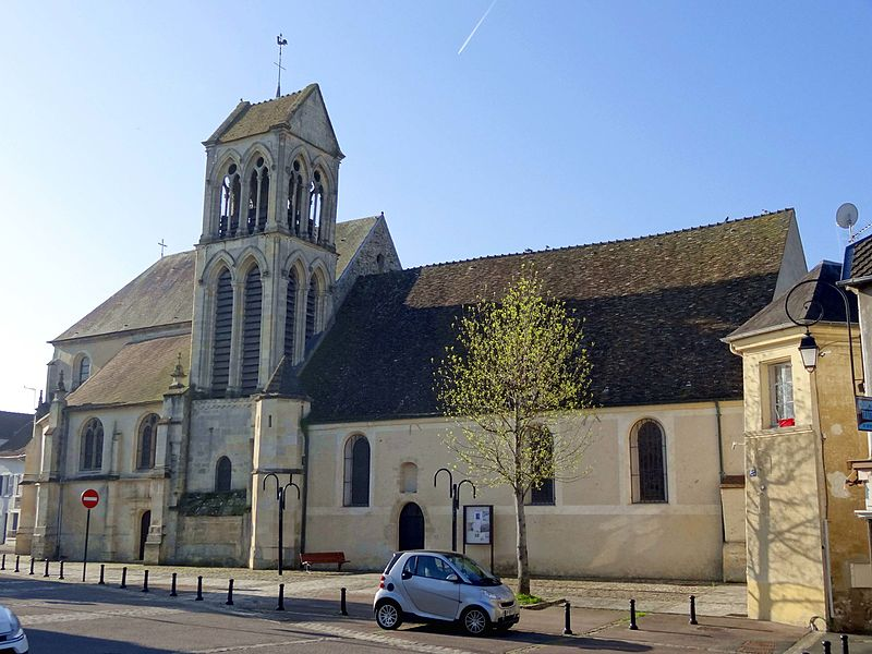 Photo du Monument Historique Eglise Saint-Nicolas situé à Mézières-sur-Seine