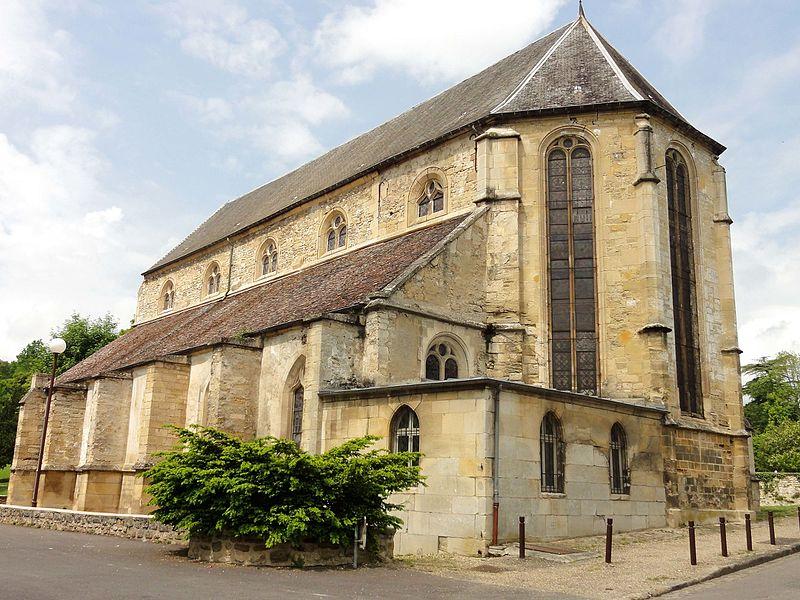 Photo du Monument Historique Eglise situé à Mézy-sur-Seine