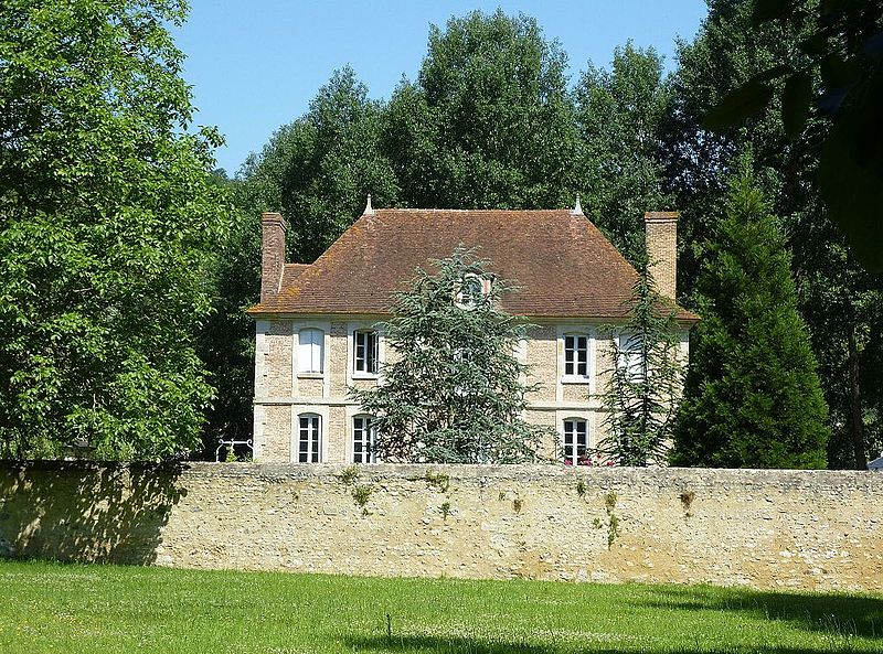 Photo du Monument Historique Pavillon dit La Vacherie ou Maison dite du Passeur situé à Moisson
