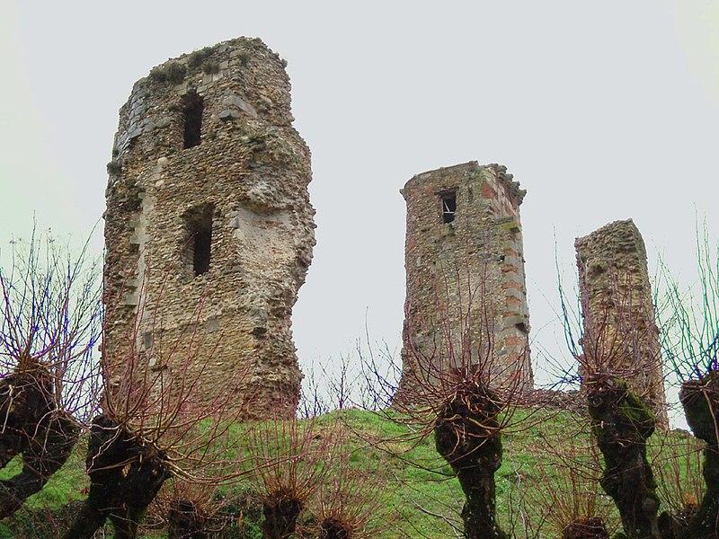 Photo du Monument Historique Château situé à Montfort-l'Amaury