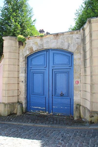Photo du Monument Historique Hôtel situé à Montfort-l'Amaury