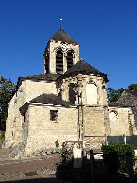 Photo du Monument Historique Eglise Saint-Séverin situé à Oinville-sur-Montcient