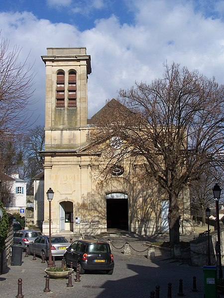 Photo du Monument Historique Eglise Saint-Wandrille situé à Le Pecq