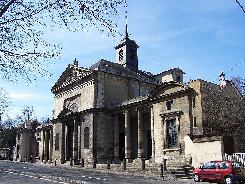 Photo du Monument Historique Eglise Saint-Louis situé à Port-Marly (Le)