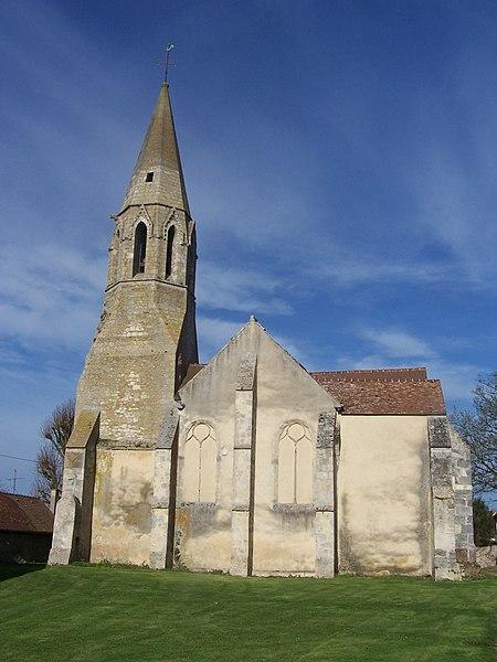 Photo du Monument Historique Eglise Saint-Pierre-Saint-Paul situé à Prunay-en-Yvelines