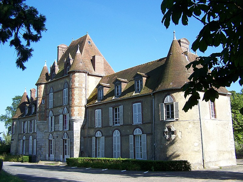 Photo du Monument Historique Manoir de la Troche situé à Richebourg