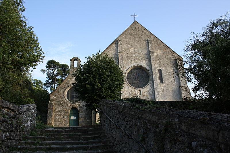 Photo du Monument Historique Eglise Saint-Gilles situé à Rochefort-en-Yvelines